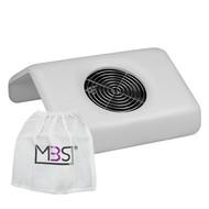 Merkloos Stofafzuiger Wit met een motor incl.3 vervanging zakken