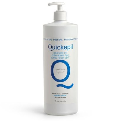 QUICKEPIL Wax Olie Voor Na Ontharing 1000ml.