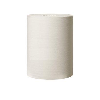CMT Blanco mini-rol, 1-laags, wit, kernloos, 120 mtr x 21,5 cm. 1 pak á 6 rollen