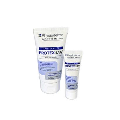 Physioderm Protex San huidbescherming bij water-oplosbaar vuil, 10ml tube