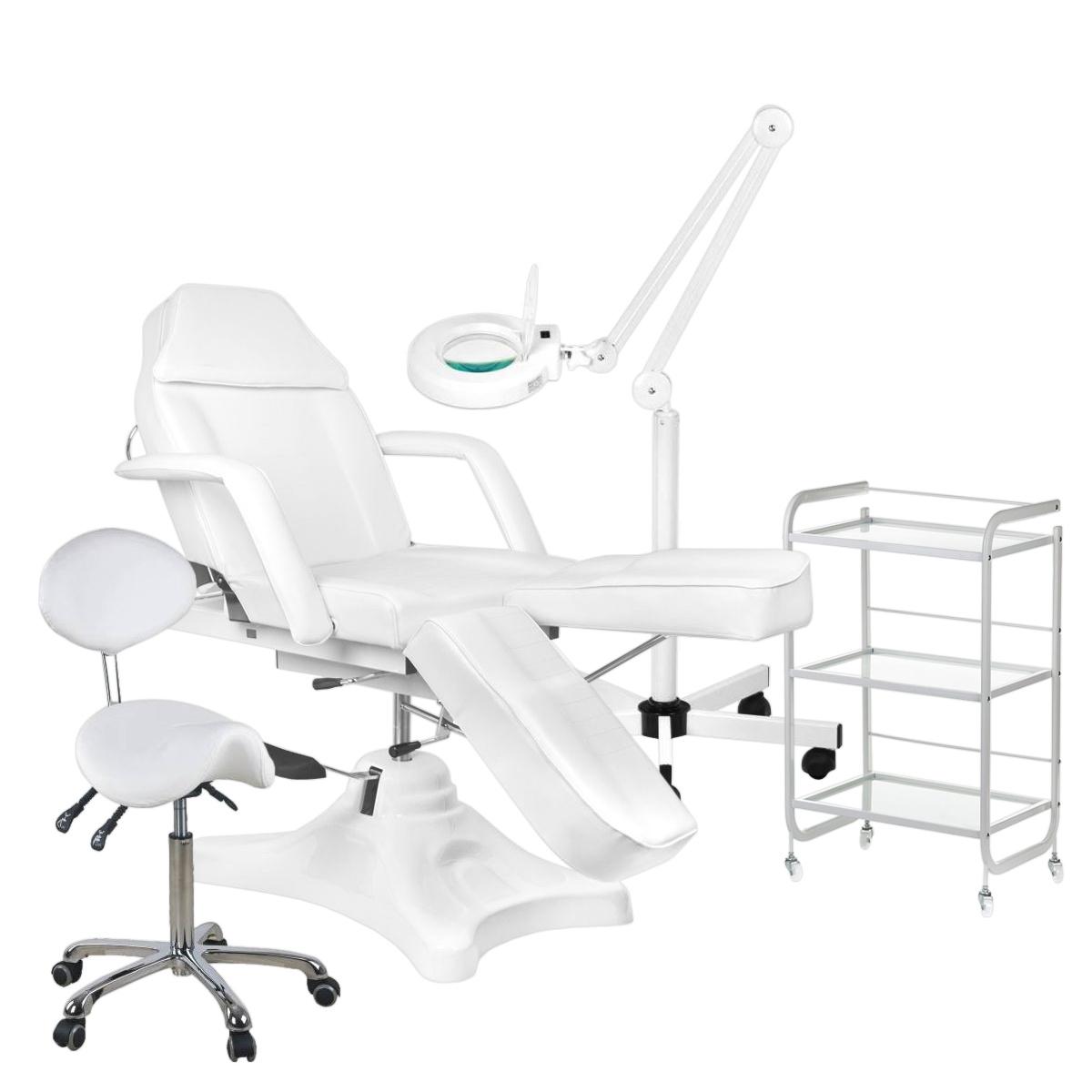 Behandel/pedicure starter set WIT