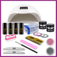 Mega Beauty Shop® Uv gel startpakket met Sun5 lamp  MBS®  (5)