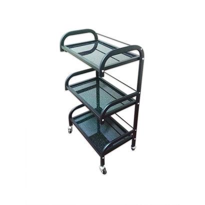 Mega Beauty Shop® Instrumententafel   Zwart - glas