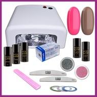 Mega Beauty Shop® Gellak startpakket met UV lamp  MBS® (2)