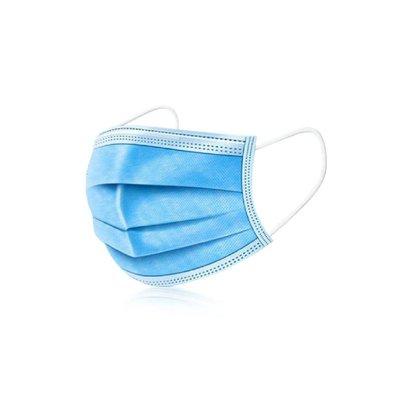 Mega Beauty Shop® Mondkapjes/Mondmasker 3-laags 10 stuks Blauw of Groen