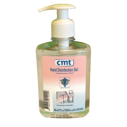 CMT CMT Alcoholgel pomp 250 ml