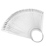 Mega Beauty Shop® Presentatie Display 48 nagels clear amandelvorm