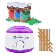 Mega Beauty Shop® Waxapparaat Pro Wax 100 starterset 9. Wit/paars