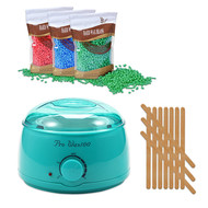 Mega Beauty Shop® Waxapparaat Pro Wax 100 starterset 9. Turquoise