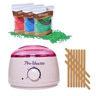 Mega Beauty Shop® Waxapparaat Pro Wax 100 starterset 9. Creme/roze