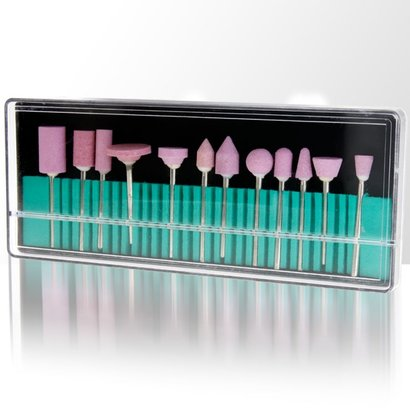 Mega Beauty Shop® Freesset set voor nagels 12-delig