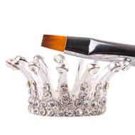 Mega Beauty Shop® Penseel houder - zilver