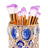 Mega Beauty Shop® Make up borstel & penseel houder - gold