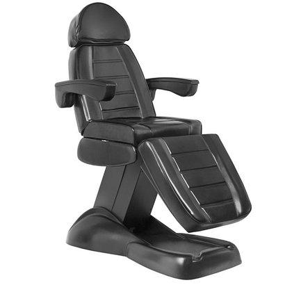 Mega Beauty Shop® Elektrische behandelstoel Zwart  (3 motoren)