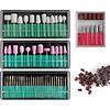 Mega Beauty Shop® Nagelfrees Zwart incl. 111 delige nagelfrees bitjes en schuurrolletjes set
