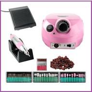 Mega Beauty Shop® Nagelfrees Roze incl. 111 delige nagelfrees bitjes en schuurrolletjes set