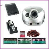 Mega Beauty Shop® Nagelfrees Zilver incl. 111 delige nagelfrees bitjes en schuurrolletjes set