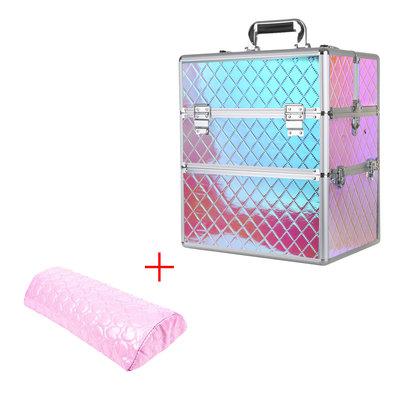 Mega Beauty Shop® Koffer groot Unicorn met opbergvakken+Armsteun