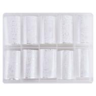 Merkloos Nagel transfer folie nail art set (05) Floral White