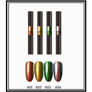Mega Beauty Shop® Nail art Aurora pigment pen set (05)