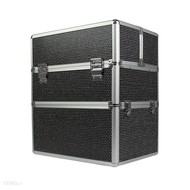 Mega Beauty Shop® Koffer groot zwart met stras