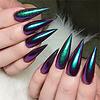 Mega Beauty Shop® Nail art Mirror pigment pen  Purple
