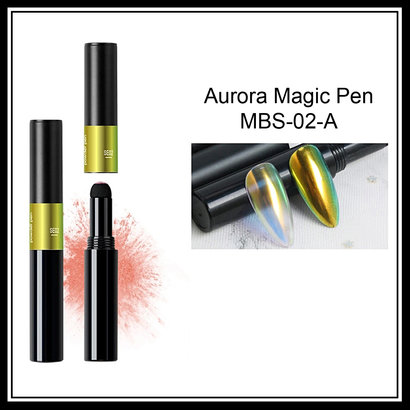 Mega Beauty Shop® Aurora pigment pen  Green-Gold-Blue