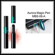Mega Beauty Shop® Aurora pigment pen  Green-Blue-Red