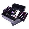 Mega Beauty Shop® Koffer groot 3D Zwart/Zwart