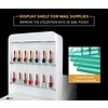 Mega Beauty Shop® Manicuretafel met afzuiging  dubbele (MBS-3107)