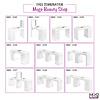 Mega Beauty Shop® Manicuretafel met afzuiging  (MBS-3101) rechts