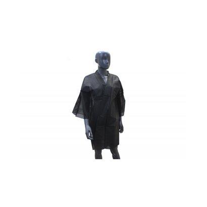 QUICKEPIL Kimono SPA wegwerp zwart  (10stuks)