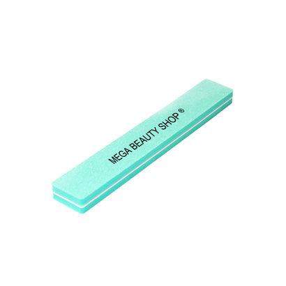 Mega Beauty Shop® Nail buffer Recht  (1stuk) Groen