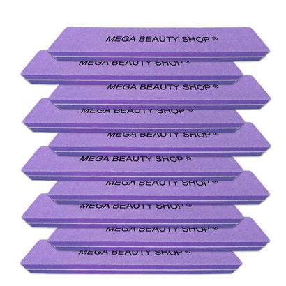 Mega Beauty Shop® Nail buffer Recht  (10stuk) Paars
