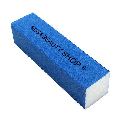 Mega Beauty Shop® Nagel polijstblok Neon Blauw (1stuk)