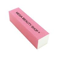 Mega Beauty Shop® Nagel polijstblok Neon Roze (1stuk)