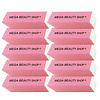 Mega Beauty Shop® Nagel polijstblok Neon Roze(1stuk)