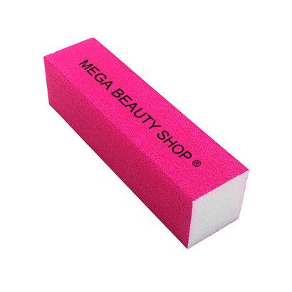 Mega Beauty Shop® Nagel polijstblok Neon Pink (1stuk)