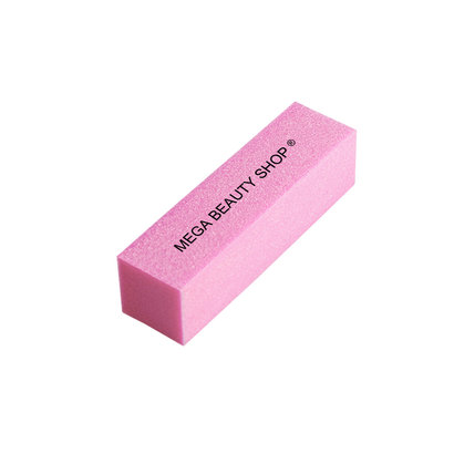 Mega Beauty Shop® Nagel polijstblok Roze (1stuk)