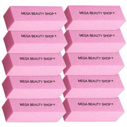 Mega Beauty Shop® Nagel polijstblok Roze (10stuk)