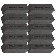 Mega Beauty Shop® Nagel polijstblok Zwart (10stuk)