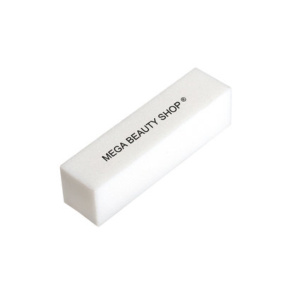 Mega Beauty Shop® Nagel polijstblok Wit  (1stuk)