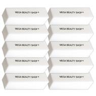 Mega Beauty Shop® Nagel polijstblok Wit  (10stuk)
