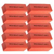 Mega Beauty Shop® Nagel polijstblok Oranje  (10stuk)