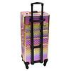 Mega Beauty Shop® Aluminium Trolley Colorful/Golden rose 4in1
