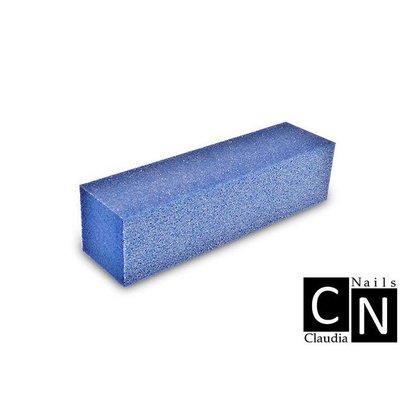 Merkloos Nagel polijst blok Blauw