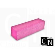 Merkloos Nagel polijst blok Pink