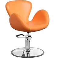 Merkloos Pompstoel Oranje