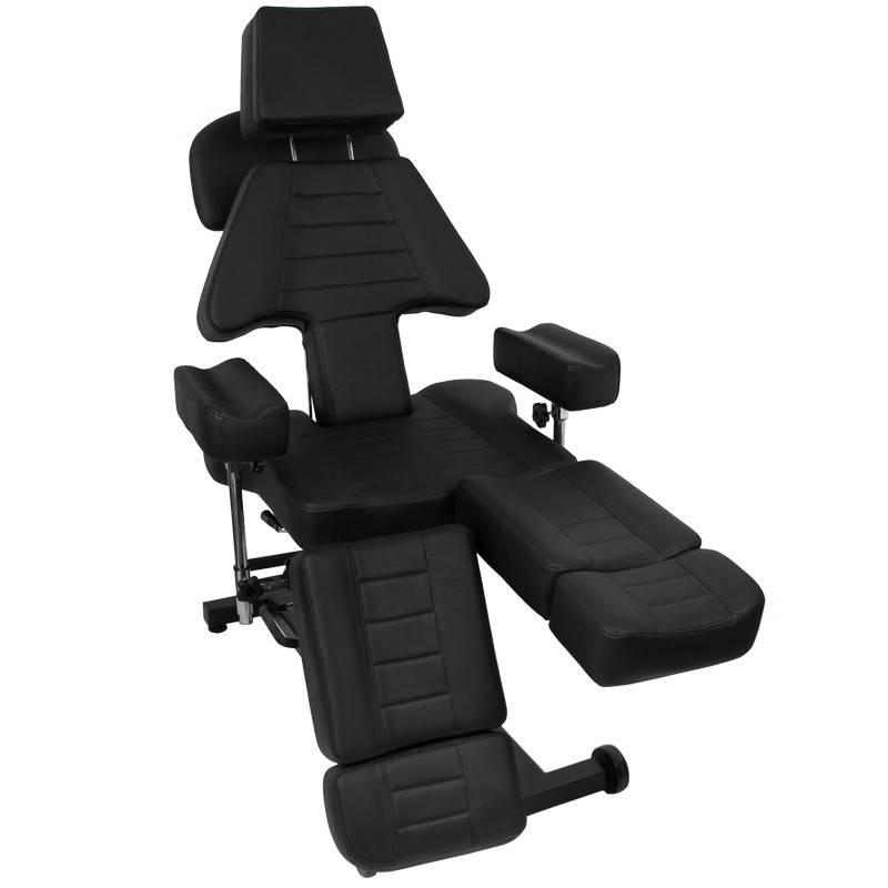 Tattoo stoelen kunnen tegen meerprijs en in overleg gemonteerd geleverd worden!