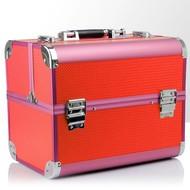Mega Beauty Shop® Koffer Roze/Oranje